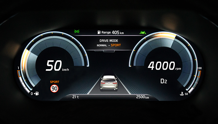Kia XCeed - Digital Cluster