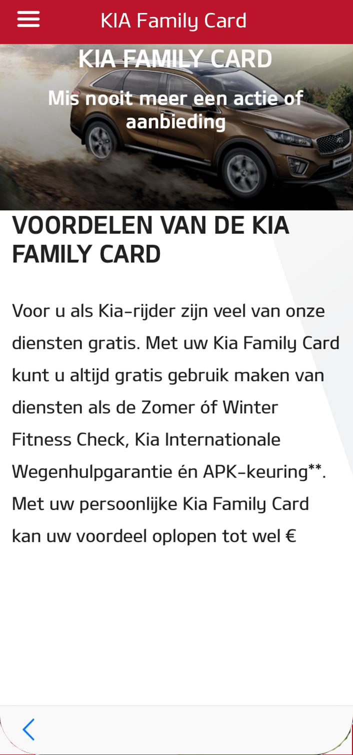 Kia connected services kia motors nederland for Family motors auto repair