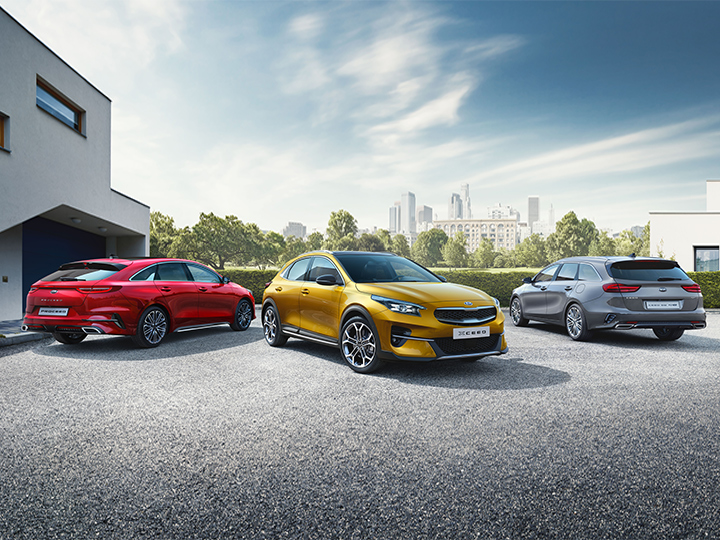 Kia Business Editions - modellen