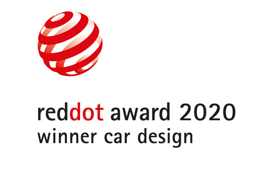 "Red Dot 2020 - zwycięzca w kategorii ""Product Design"""