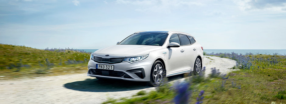 laddhybrid kia optima sportswagon kombi