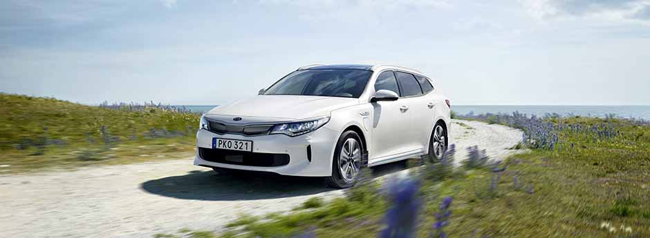 Bil Kia Optima sw plug in hybrid