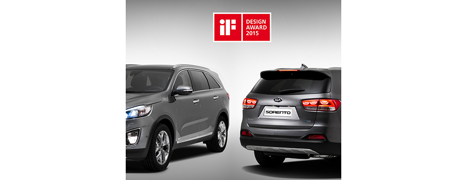 Bil Kia Sorento if design award