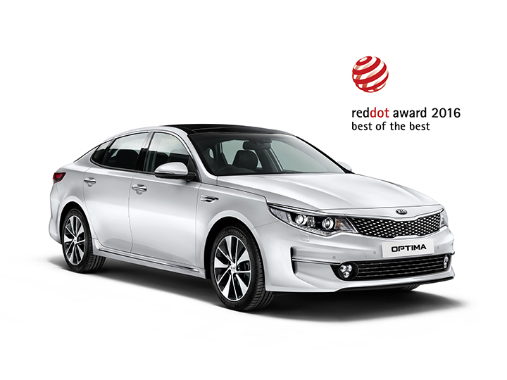 Kia Optima red dot design award