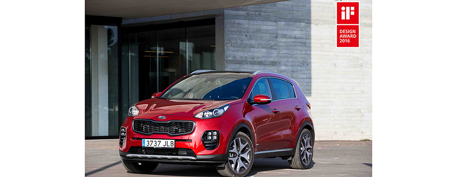 Bil Kia Sportage if design award