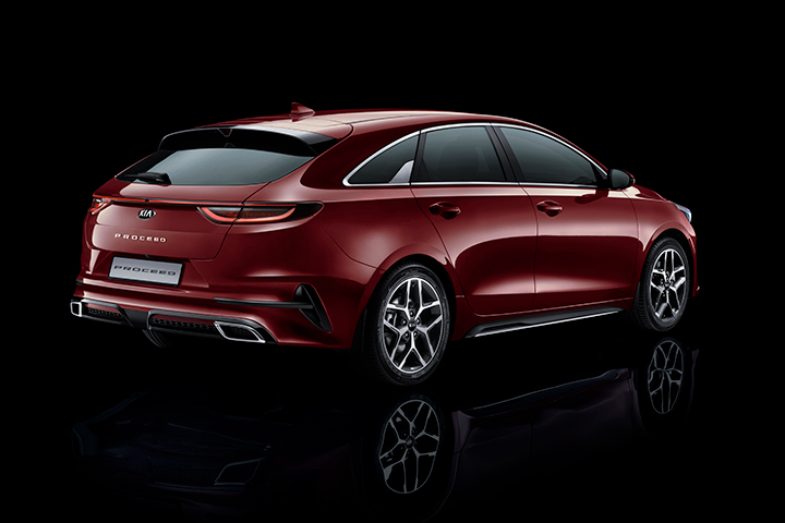Shooting brake-profil | Kia Motors Sweden