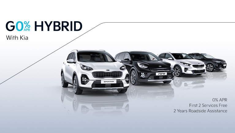 Kia 0% APR on Hybrids