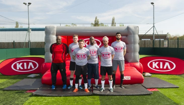 5 aside football competition - Kia Champ into the Arena, 2016