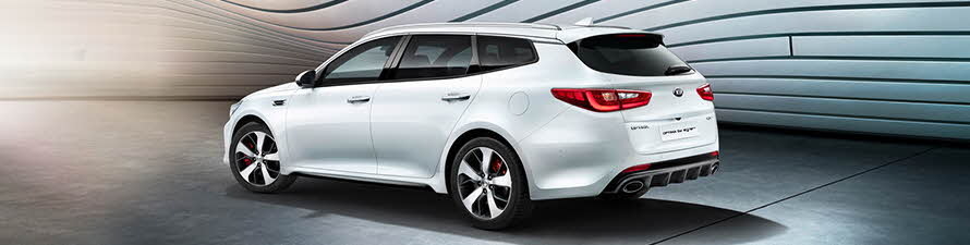 Kia New Optima in showroom