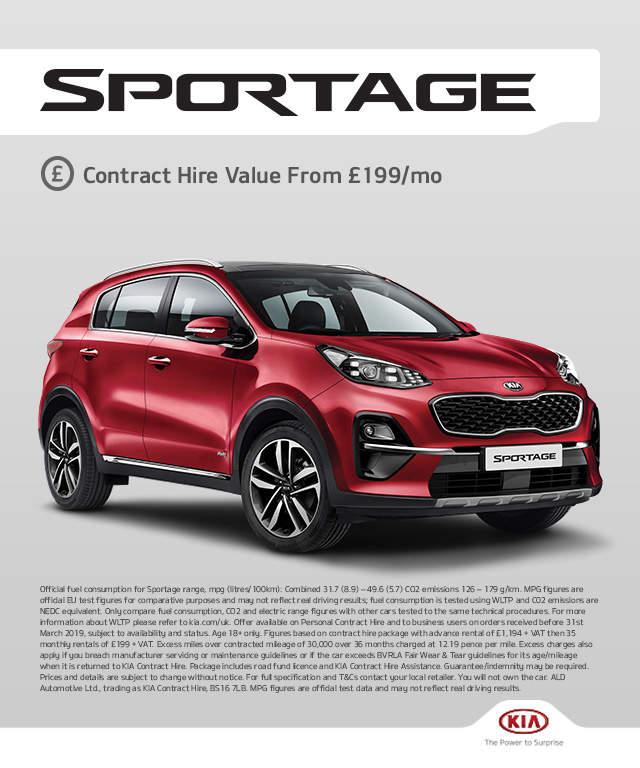 Contract Hire Offers Car Leasing Deals Kia Motors Uk