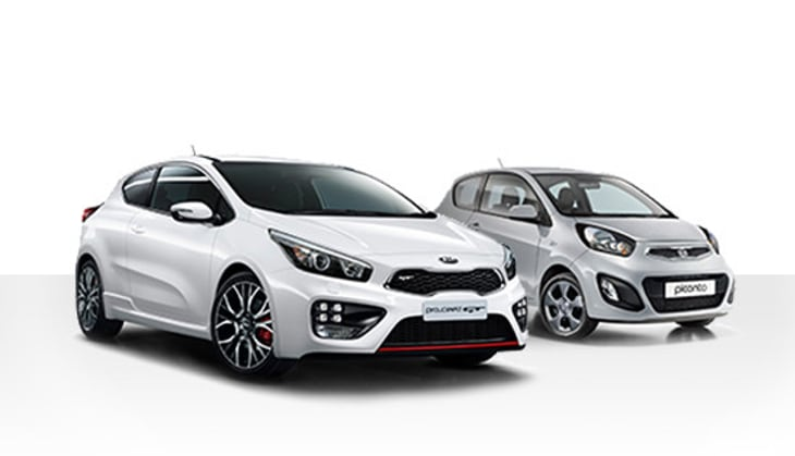 Kia cee'd GT and Picanto