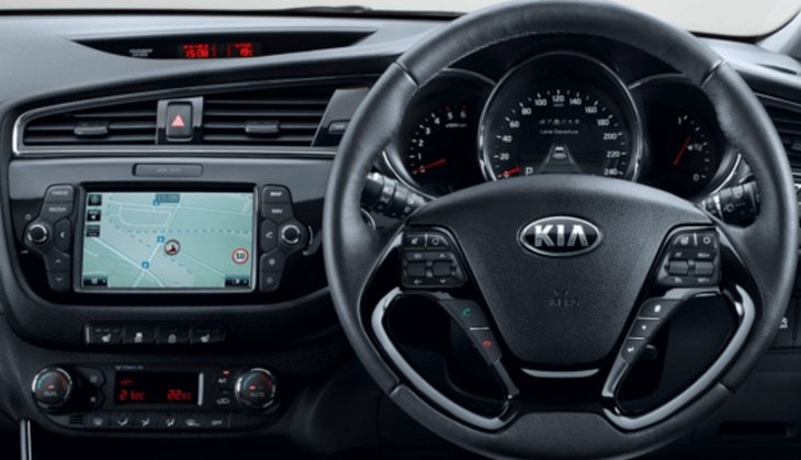 Kia dashboard