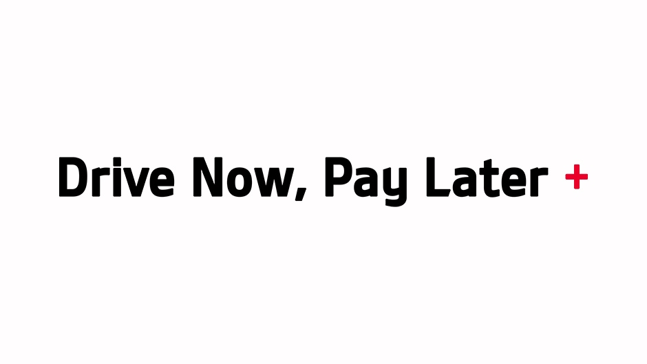 Drive Now. Pay Later Logo