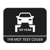 MOT test cover