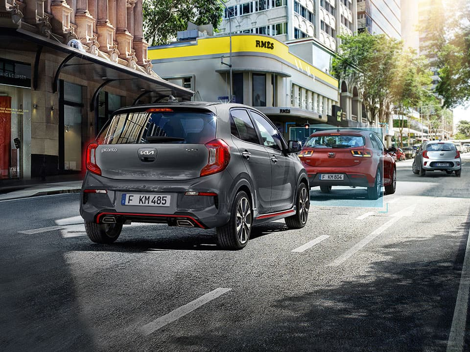 The new Kia Picanto Forward Collision Avoidance-Assist (FCA)