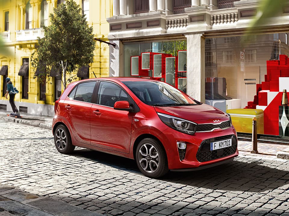 The new Kia Picanto exterior design