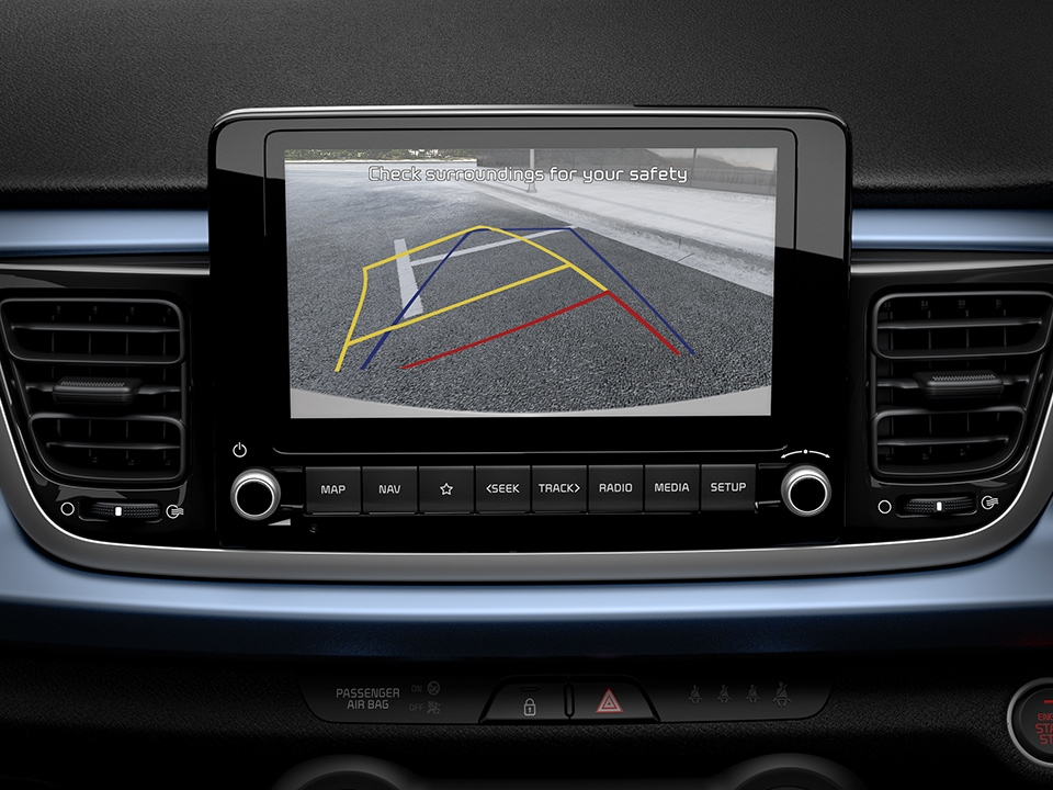 New Kia Rio reversing camera