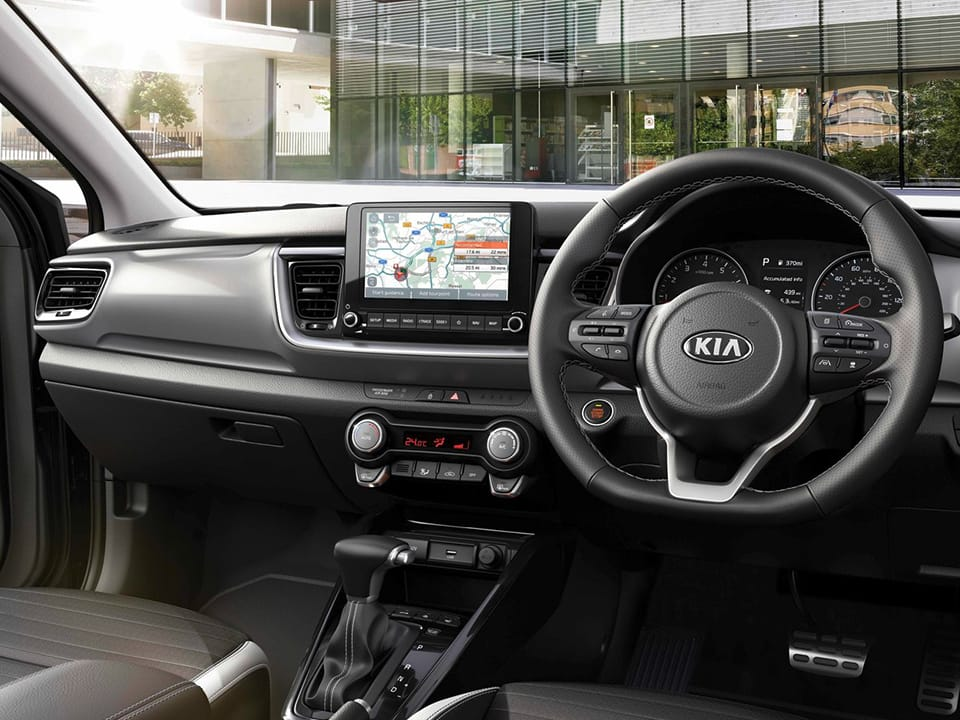 "New Kia Stonic 8"" touchscreen"