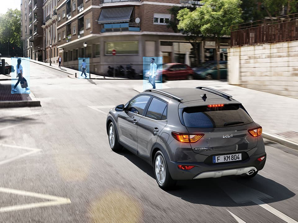 New Kia Stonic Forward Collision-Avoidance Assist (FCA)