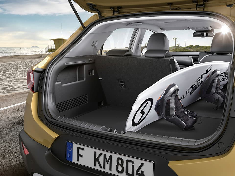 New Kia Stonic spaciousness