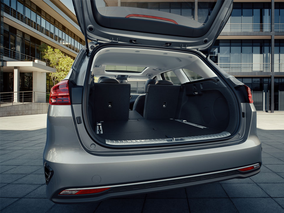 kia ceed sportswagon luggage space