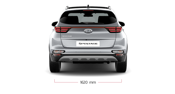 The Kia new Sportage back