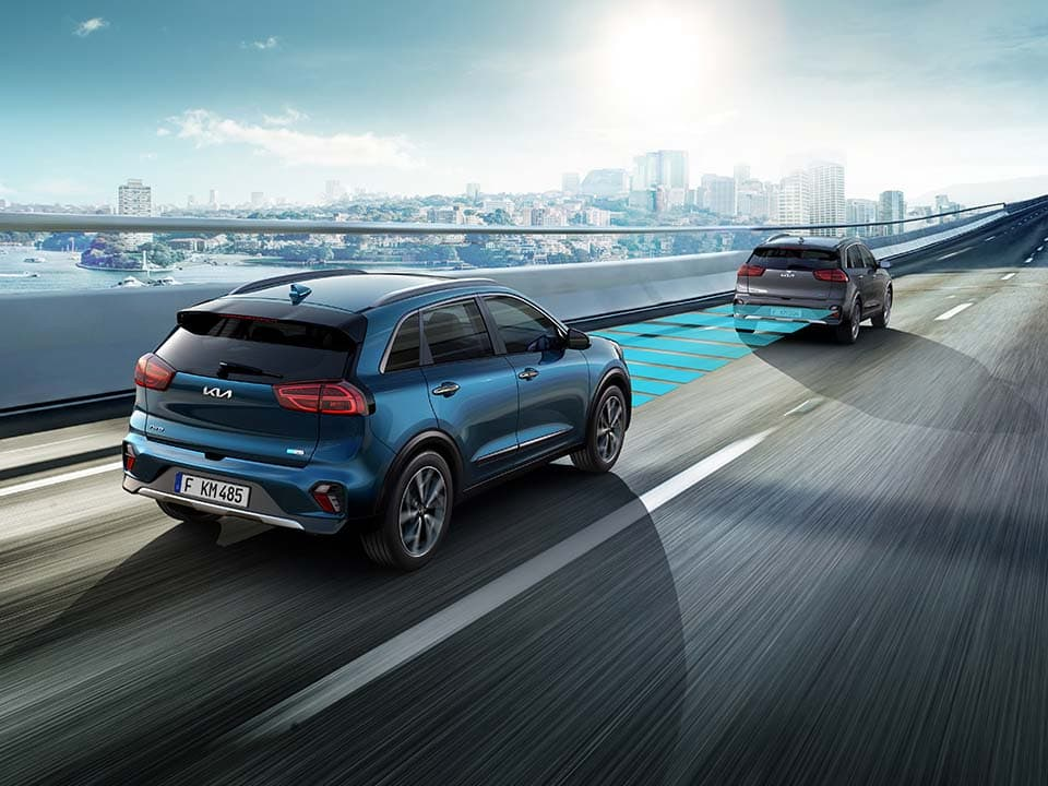 Kia Niro Plug-in Hybrid smart cruise control