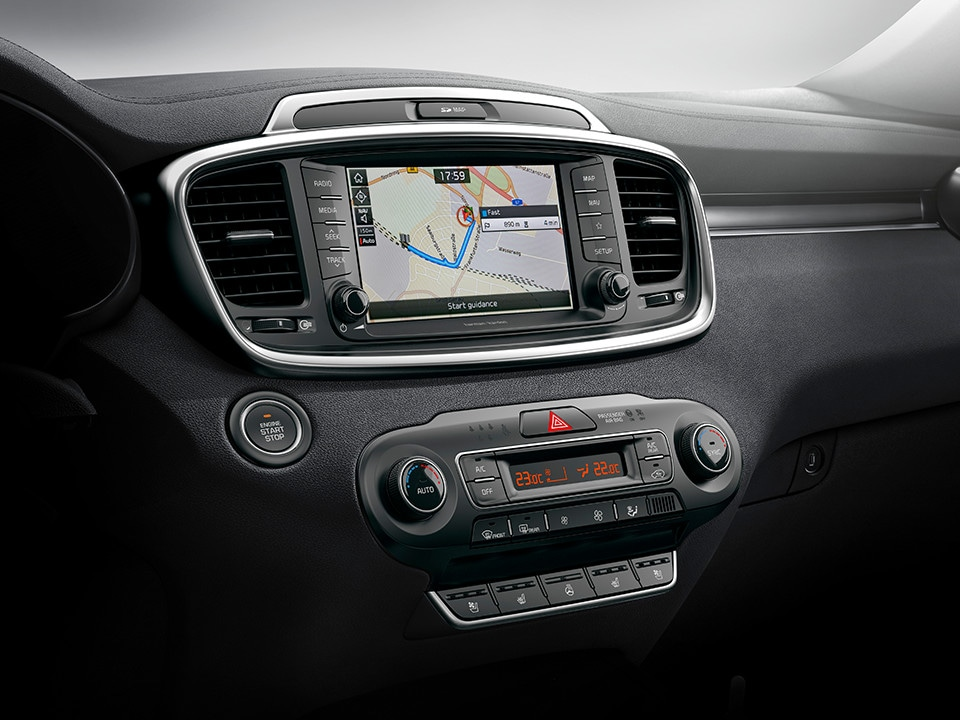 Kia Sorento Touchscreen Display