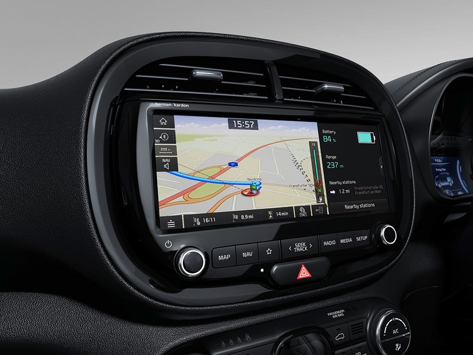 Kia All-New Soul EV Touchscreen