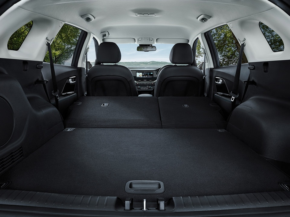 Kia e-Niro Spacious Boot