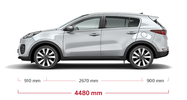 Kia Sportage Specifications Amp Features Kia Motors Uk