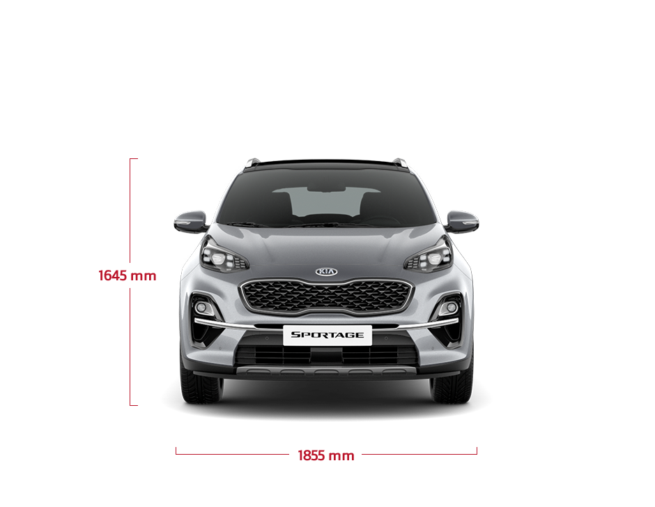 The Kia new Sportage front