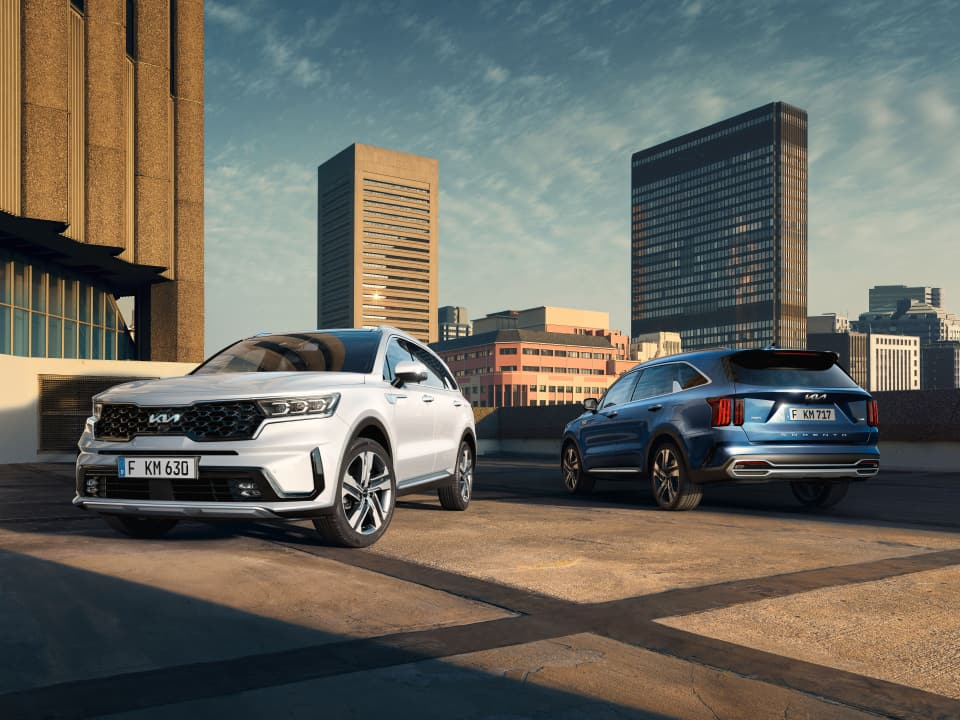 All-New Kia Sorento Plug-In Hybrid All Wheel Drive Technology