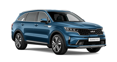 Front view of All-New Kia Sorento PHEV '3'