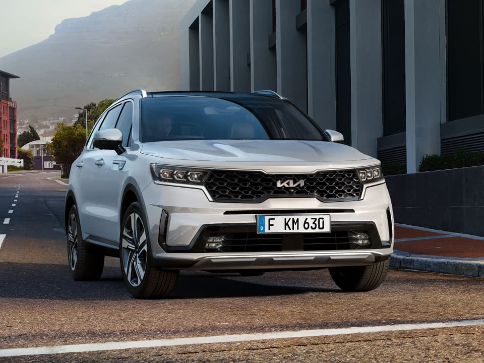 All-new Kia Sorento Dynamic City Driving