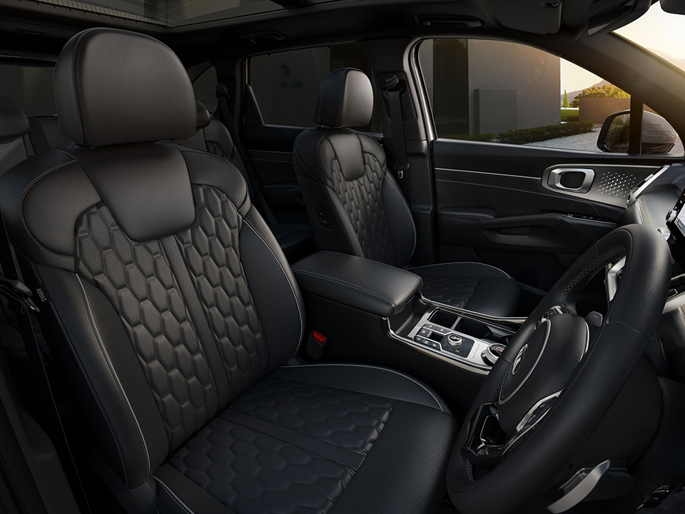 All-New Kia Sorento luxury interior