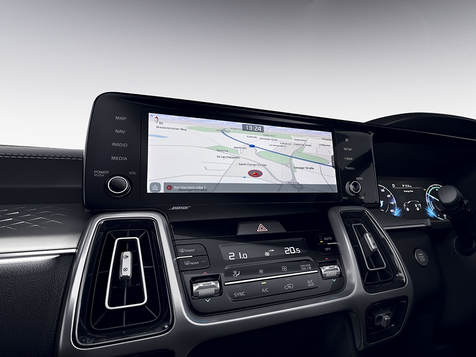 "All-New Kia Sorento 10.25"" Touchscreen Satellite Navigation"