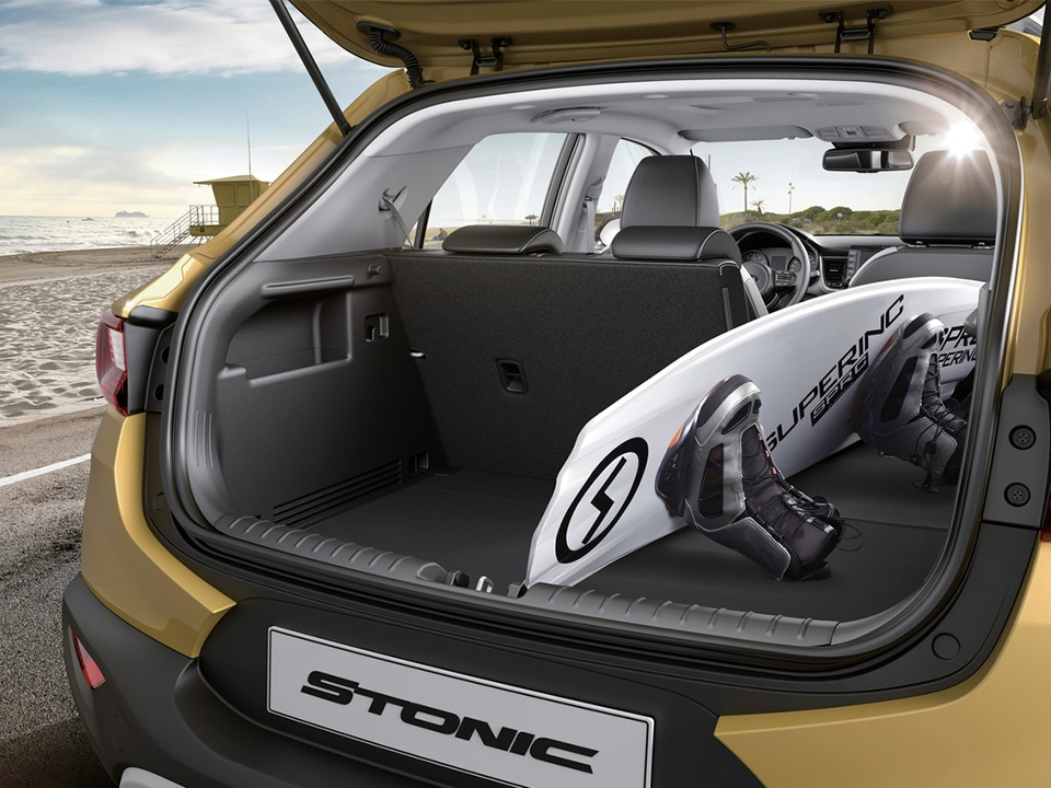 Kia Stonic spaciousness