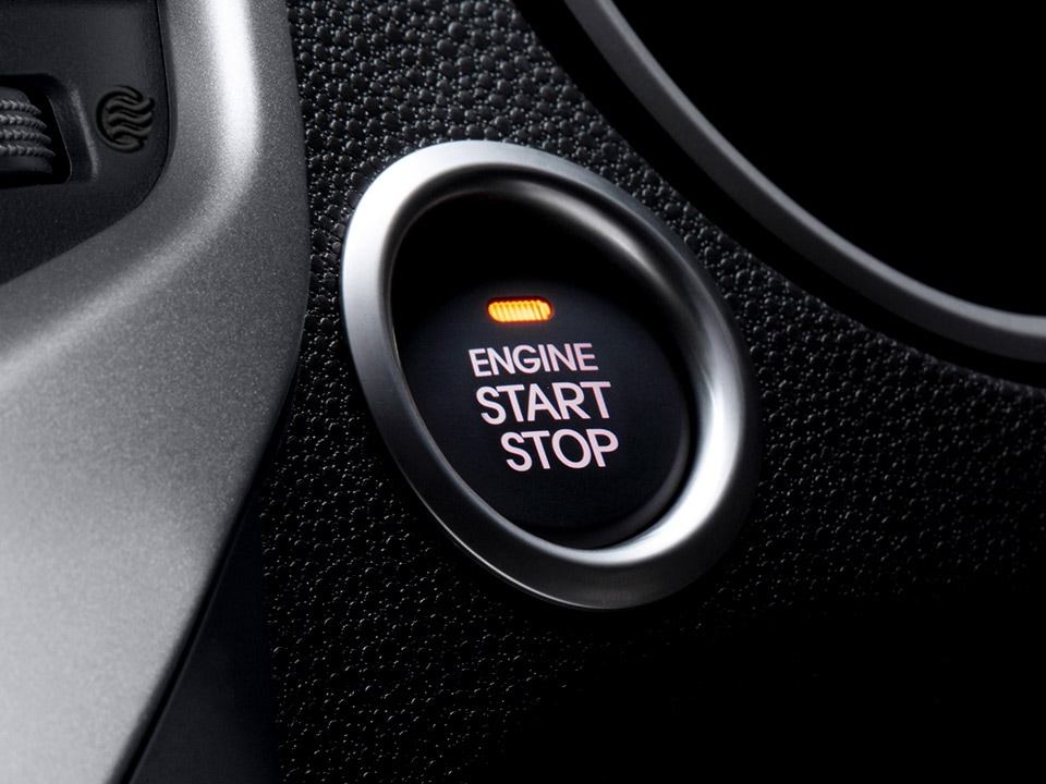 Kia Venga Smart Key engine stop start button