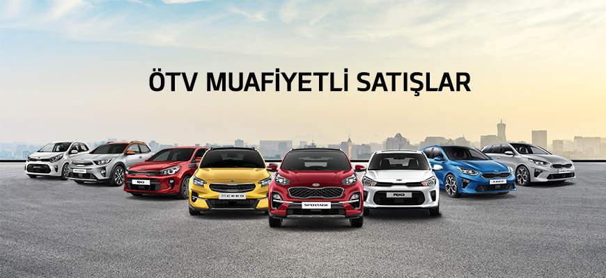 ÖTV (Özel Tüketim Vergisi) Muafiyetli Satışlar - KIA Türkiye
