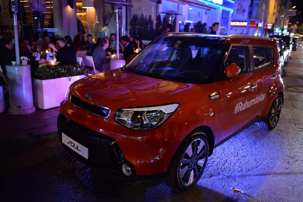 KIA Soul Parti Showroom