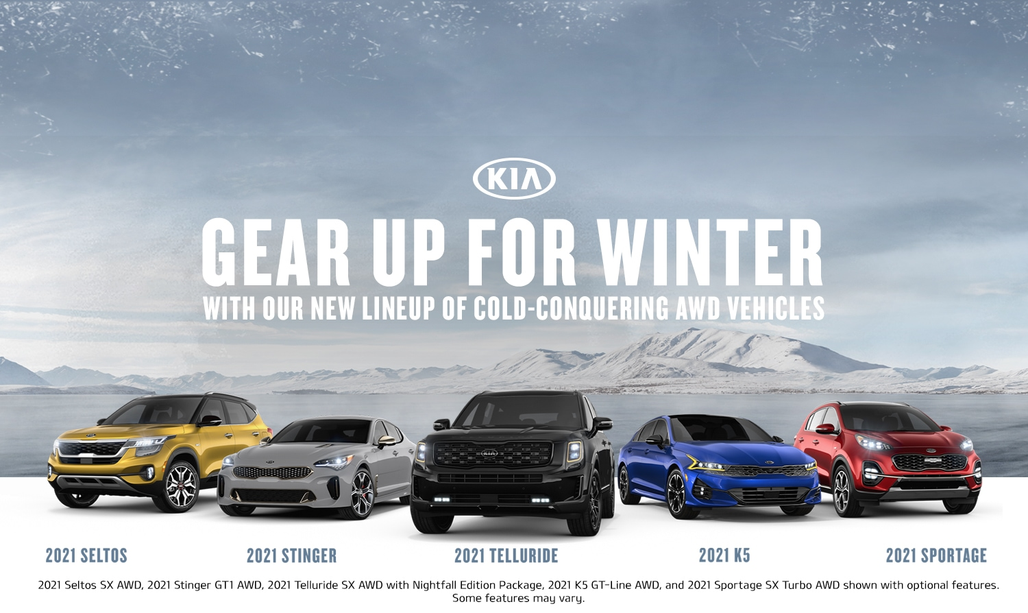 2021 Kia Command The Season Holiday Sales Event Offer