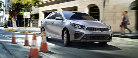 Brake Assist System for the 2019 Kia Forte compact car