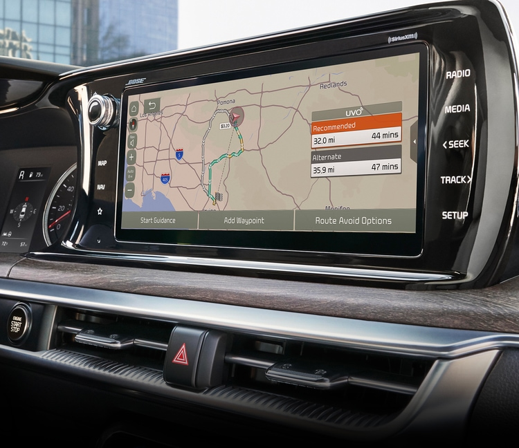 2021 Kia K5 Connected Routing