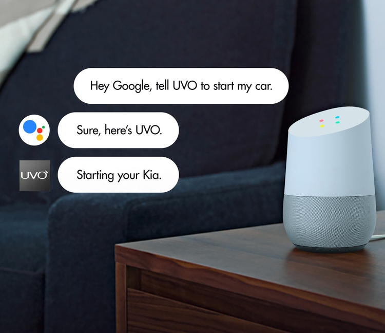 2021 Kia K5 Google Assistant Functionality With UVO