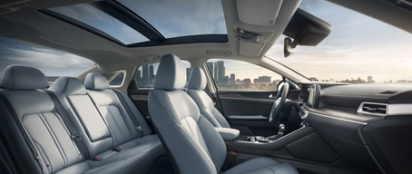 2021 Kia K5 Premium Interior With Panoramic Sunroof
