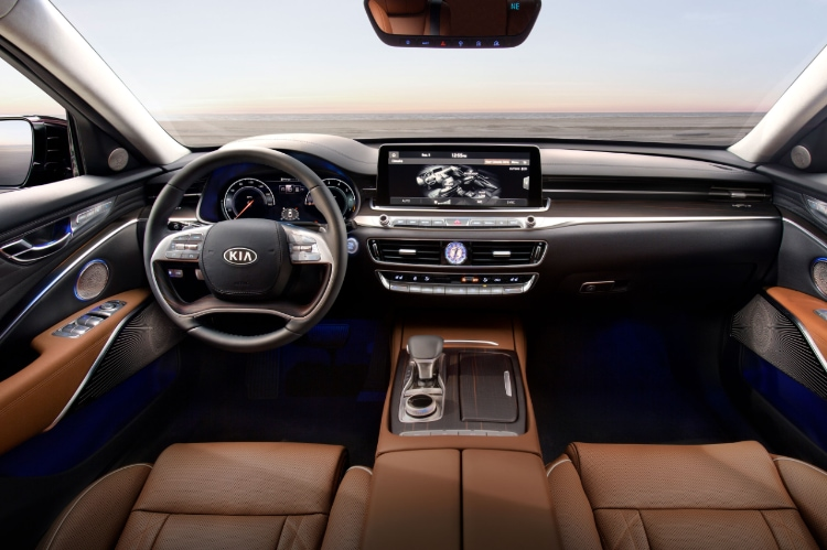 2020 Kia K900 12.3 Inch Touch-Screen Display