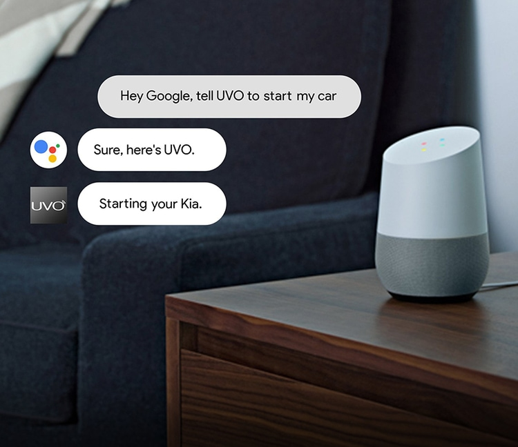 2020 Kia K900 Google Assistant With UVO