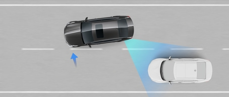 2020 Kia K900 Blind Spot Collision Avoidance Assist Rear