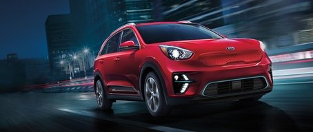 2020 Kia Niro EV Handsome Front Design